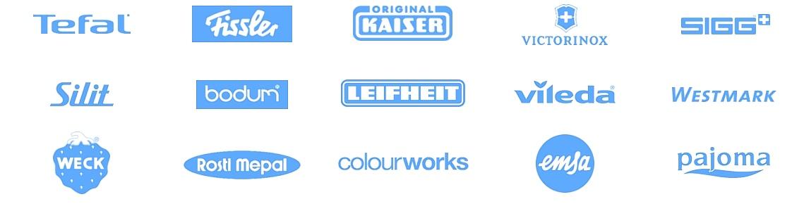 Marken-haushalt-blau